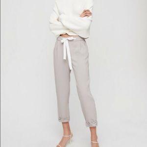 Wilfred grey Allant jogger pants